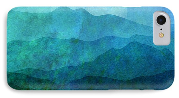 Mountain iPhone 7 Case - Moonlight Hills by Gary Grayson