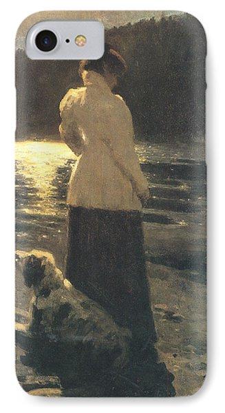 Moonlight Phone Case by Ilya Repin