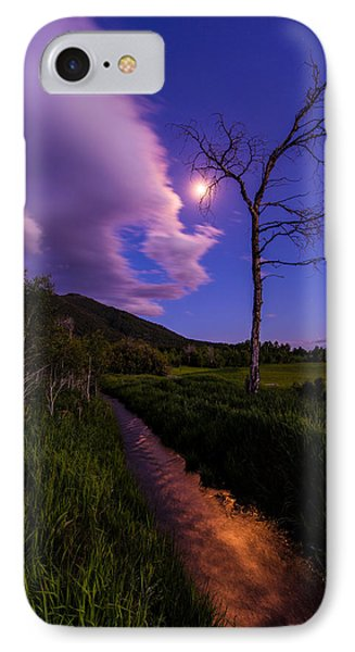 Moonlight Meadow Phone Case by Chad Dutson