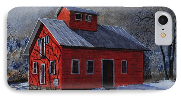 Moonlight On The Mill IPhone Case