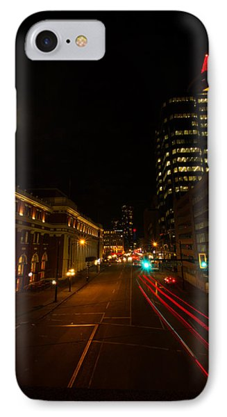 IPhone Case featuring the photograph Moonlight Over The City by Haren Images- Kriss Haren