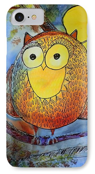 Moonlight Owl IPhone Case