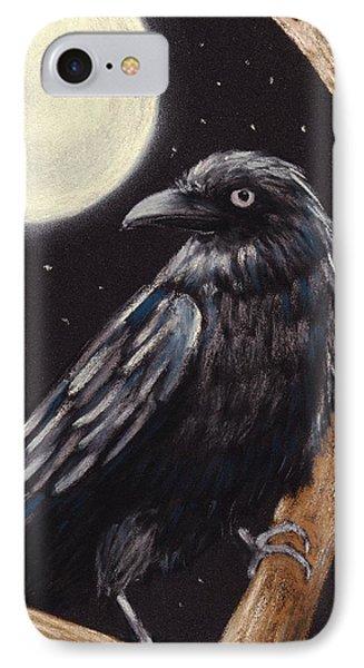 Moonlight Raven IPhone Case by Anastasiya Malakhova