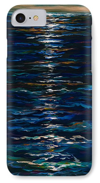 Moonlight Reflection IPhone Case by Linda Olsen