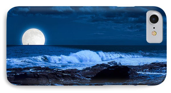 Moonlight Sail IPhone Case