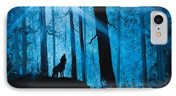 Moonlight Serenade IPhone Case by C Steele