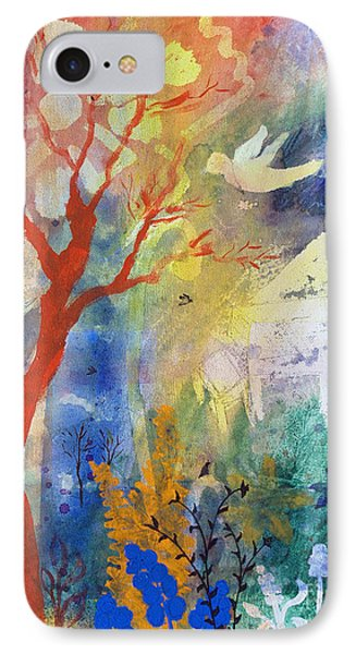 IPhone Case featuring the painting Moonlight Serenade by Robin Maria Pedrero