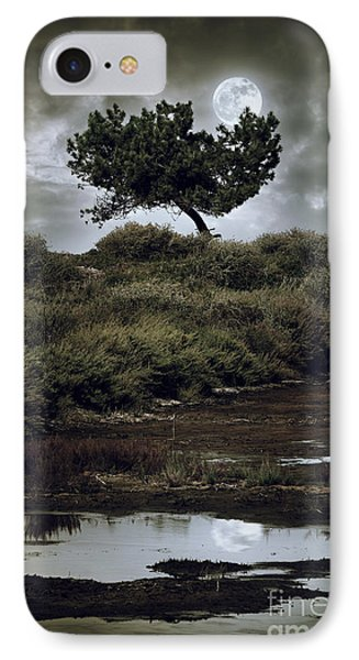 Moonlight Swamp IPhone Case