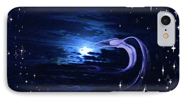 Moonlight Swim Phone Case by Jacquelyn Roberts