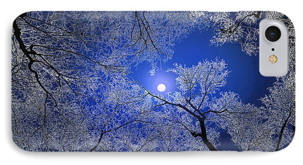 Moonlight Trees Phone Case by Igor Zenin