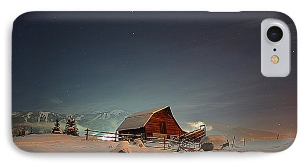 Moonlit Barn IPhone Case