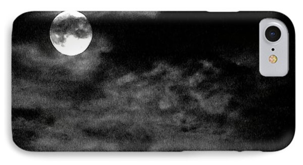 Moonlit Clouds IPhone Case