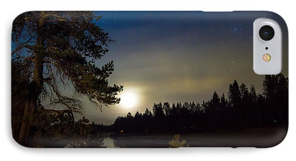 Moonlit Dance  IPhone Case by Meghann Davis