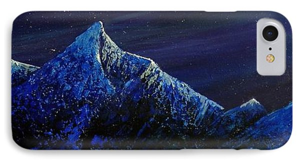 Moonlit Phone Case by Edith Peterson-Watson