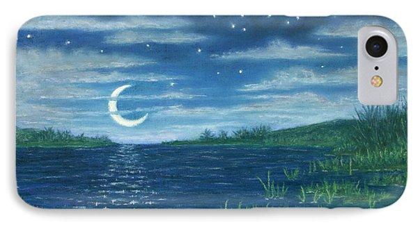 Moonlit Lagoon IPhone Case