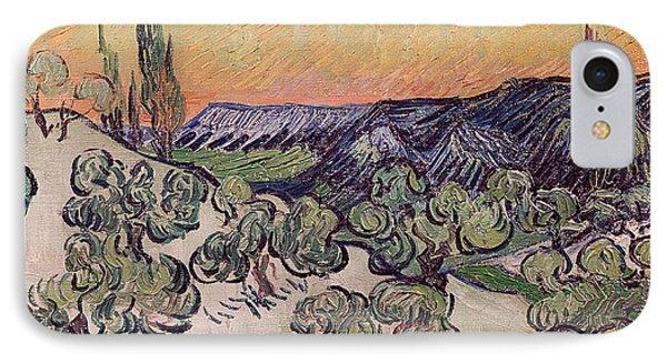 Moonlit Landscape Phone Case by Vincent Van Gogh