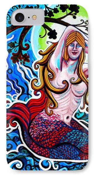 Moonlit Mermaid Phone Case by Genevieve Esson