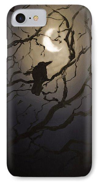 Moonlit Perch IPhone Case