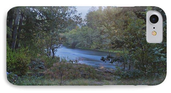 Moonlit River Phone Case by Belinda Greb