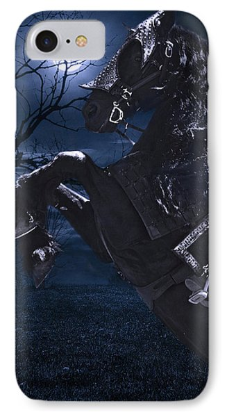 Moonlit Warrior IPhone Case