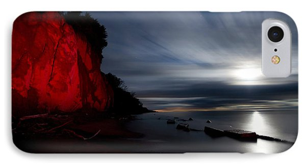 Moonrise At Clearville Beach IPhone Case