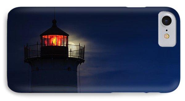 Moonrise At Nubble Lighthouse IPhone Case