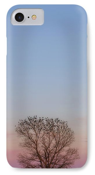 IPhone Case featuring the photograph Moonrise Over Blackbirds by Rob Graham