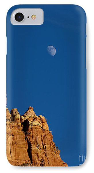 Moonrise Over Sandstone IPhone Case