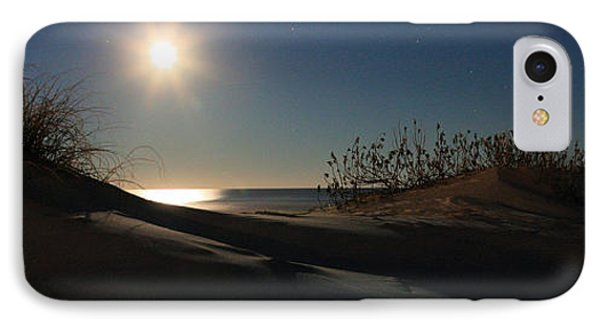 Moonrise Over The Dunes Phone Case by JC Findley