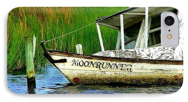 Moonrunner's Last Days Phone Case by Julie Dant