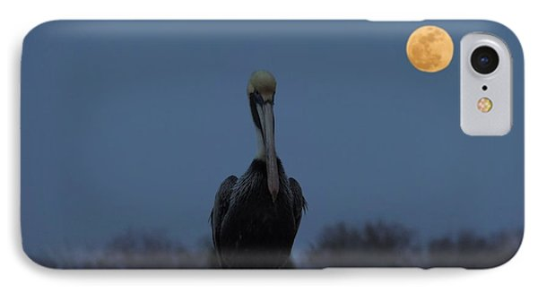 IPhone Case featuring the photograph Moon's Up by Laura Ragland