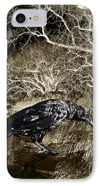 Moonshadow Phone Case by Judy Wood