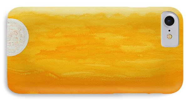 Moonshine Original Painting Sold IPhone Case by Sol Luckman