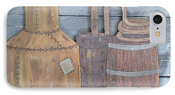 Moonshine Still IPhone Case by Eric Cunningham