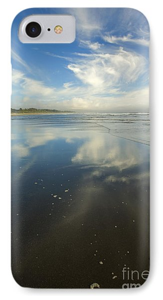 Moonstone Beach Reflections IPhone Case by Mike  Dawson