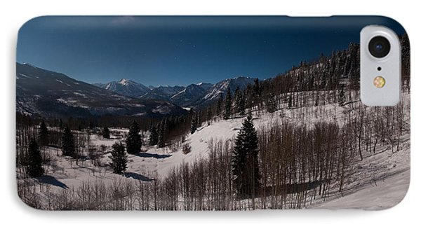 IPhone Case featuring the photograph Moonstruck  by Eric Rundle