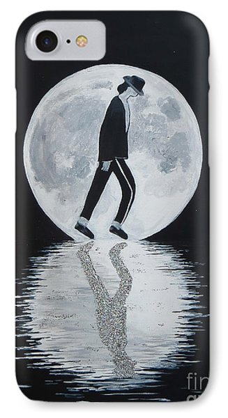 Moonwalker IPhone Case