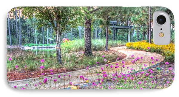 IPhone Case featuring the photograph Moore Garden Stroll by Patricia Schaefer