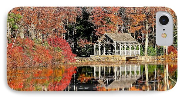 Moore State Park Autumn II IPhone Case