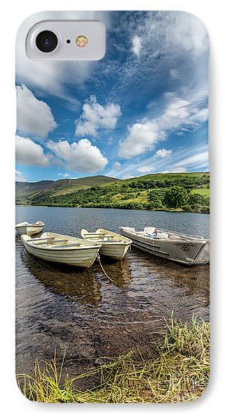 Moored Boats  Phone Case by Adrian Evans