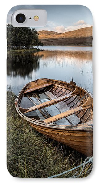 Moored On Loch Awe IPhone Case by Dave Bowman