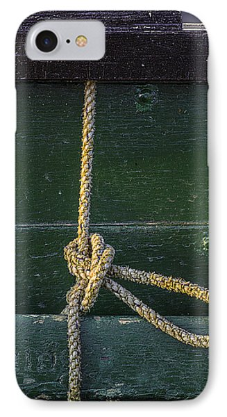 IPhone Case featuring the photograph Mooring Hitch by Marty Saccone