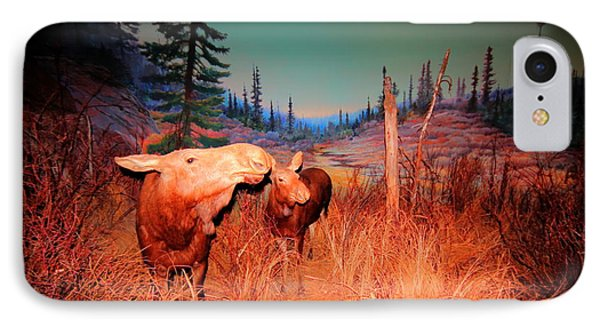 IPhone Case featuring the photograph Moose ..algonkian by Larry Trupp