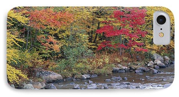 Moose River Autumn IPhone Case by Alan L Graham