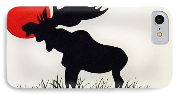 Moose Stands Tall IPhone Case