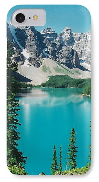Moraine Lake 4 Phone Case by Shirley Sirois
