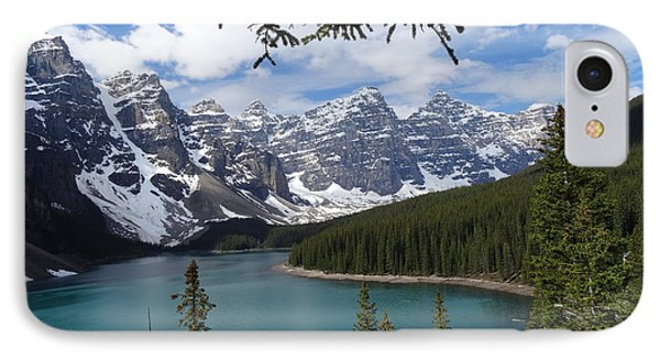 Moraine Lake Alberta Canada IPhone Case