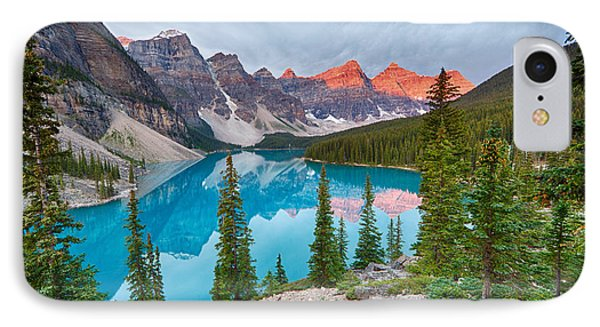 Moraine Lake Banff National Park IPhone Case