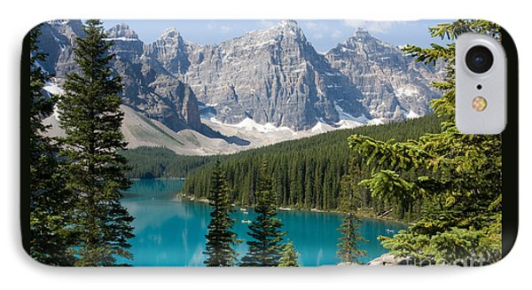 IPhone Case featuring the photograph Moraine Lake by Chris Scroggins