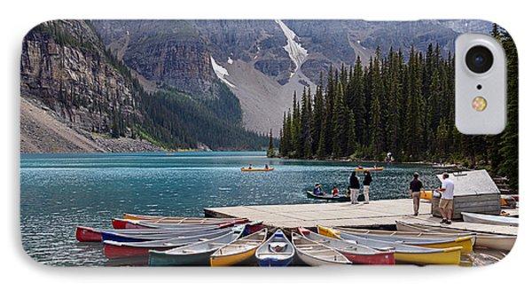 Moraine Lake Il IPhone Case